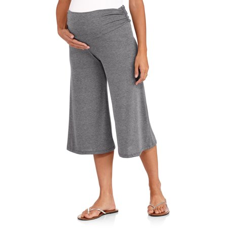 efc82f725a577 Planet Motherhood - Maternity Gaucho Pants - Walmart.com