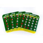 Regal Games Original Travel Bingo 4 Packs - Green