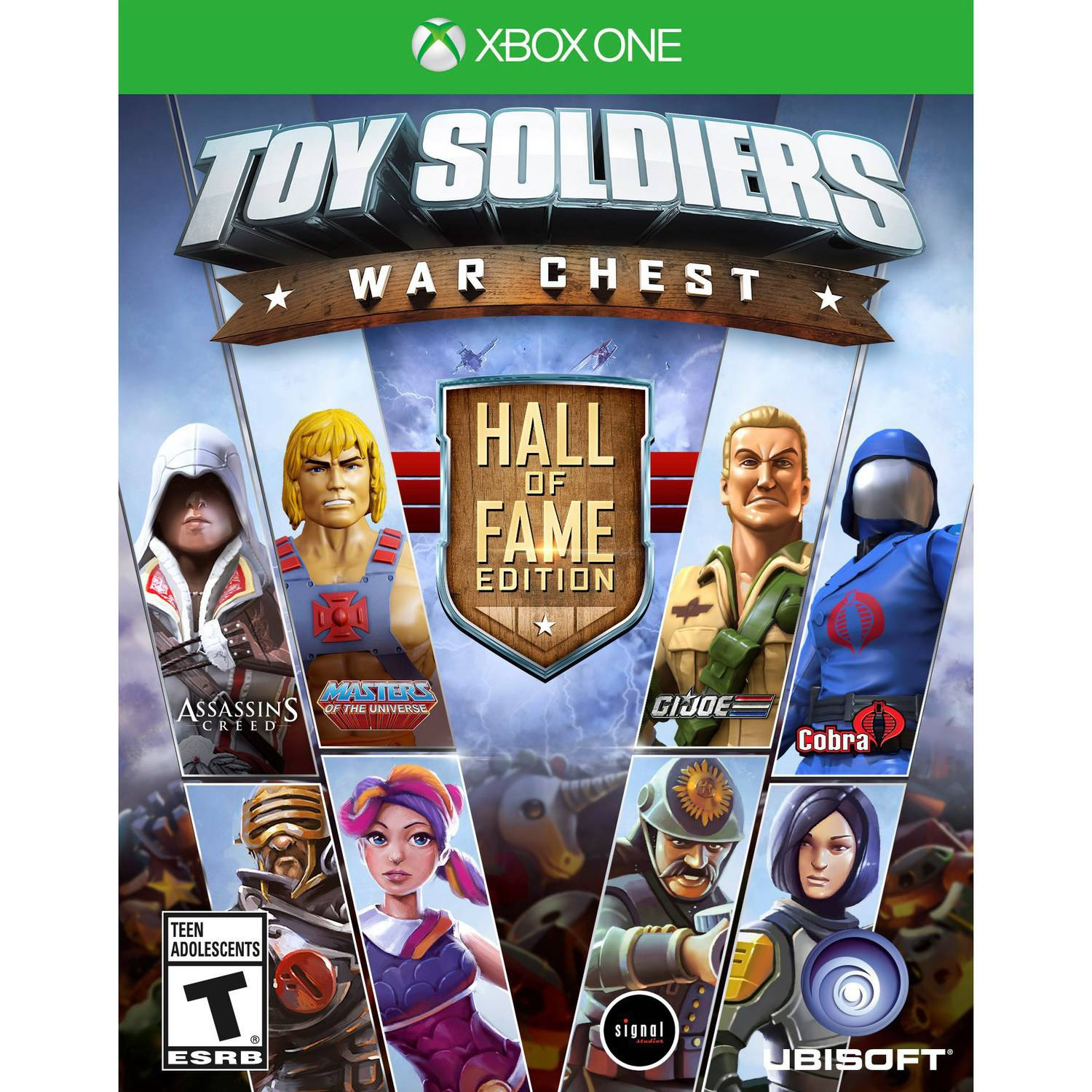 Toy Soldiers War Chest Hall of Fame Edition, Ubisoft, Xbox One, 887256001346