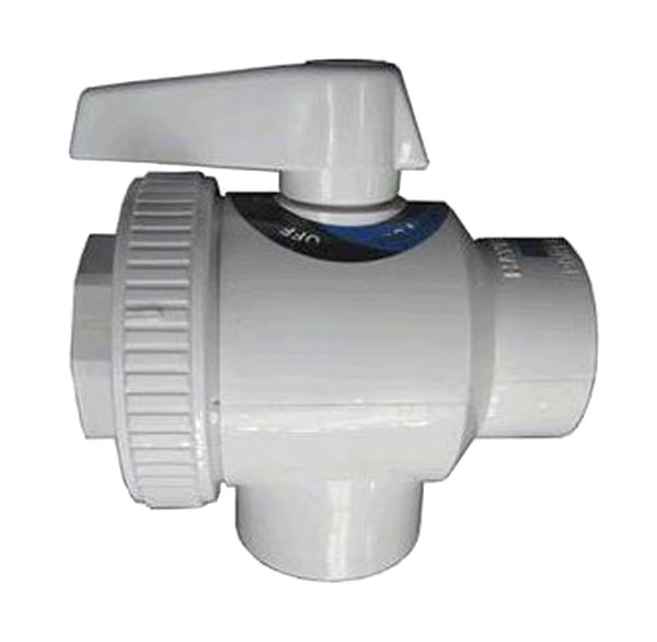 """Hayward SP0735 Swimming Pool 1-1/2"""" FIP Pipe Deluxe 4-Way Replacement Ball Valve"""
