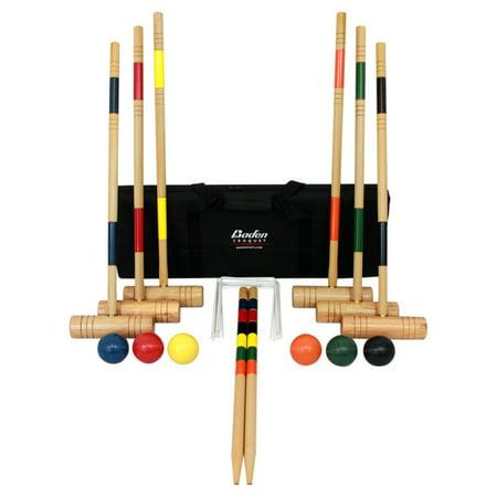 Baden Deluxe Croquet Set