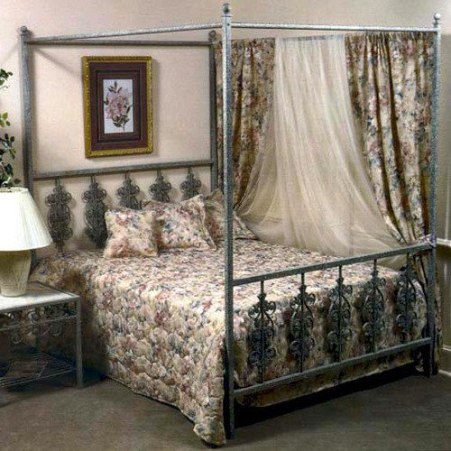 Grace Collection Garden Wrought Iron Headboard