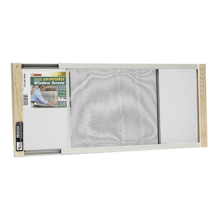 Wood Frame Adjustable Window Screen, 10