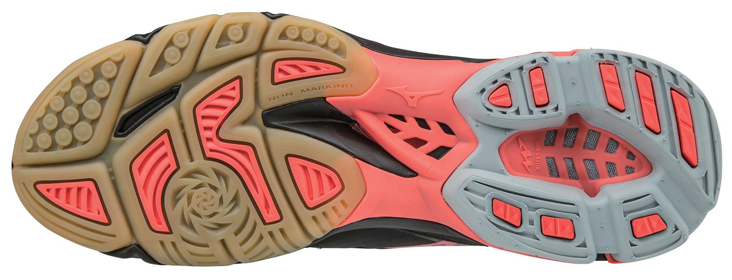 Mizuno Women's Wave Lightning Z3 Volleyball Shoes (Black, 12.0)