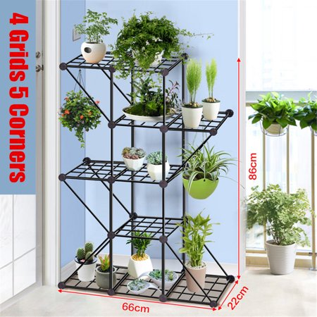 Iron Plant Stand Display Flower Pot