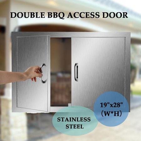 Access Door 19 X 28 For Outdoor Kitchen Bbq Island 304 Stainless Steel
