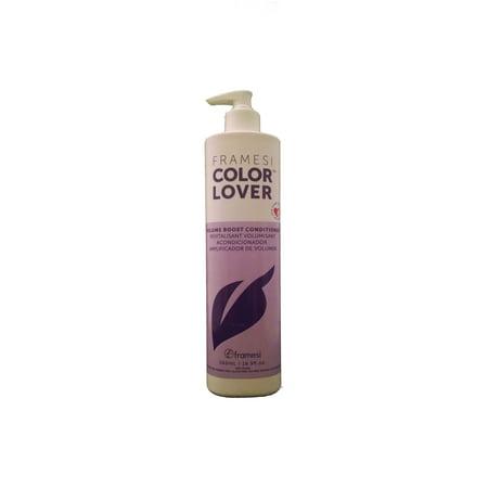 Color Lover Volume Boost Conditioner - Framesi - 16.90oz (Bc Volume Boost)