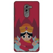 Huawei GR5 2017 Case, Premium Handcrafted Printed Designer Hard ShockProof Case Back Cover for Huawei GR5 2017 - Divine Goddess