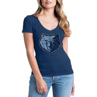Memphis Grizzlies Womens NBA Short Sleeve Baby Jersey V-neck