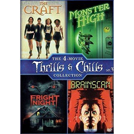 The Craft (1996) / Monster High (1989) / Fright Night (1985) / Brainscan
