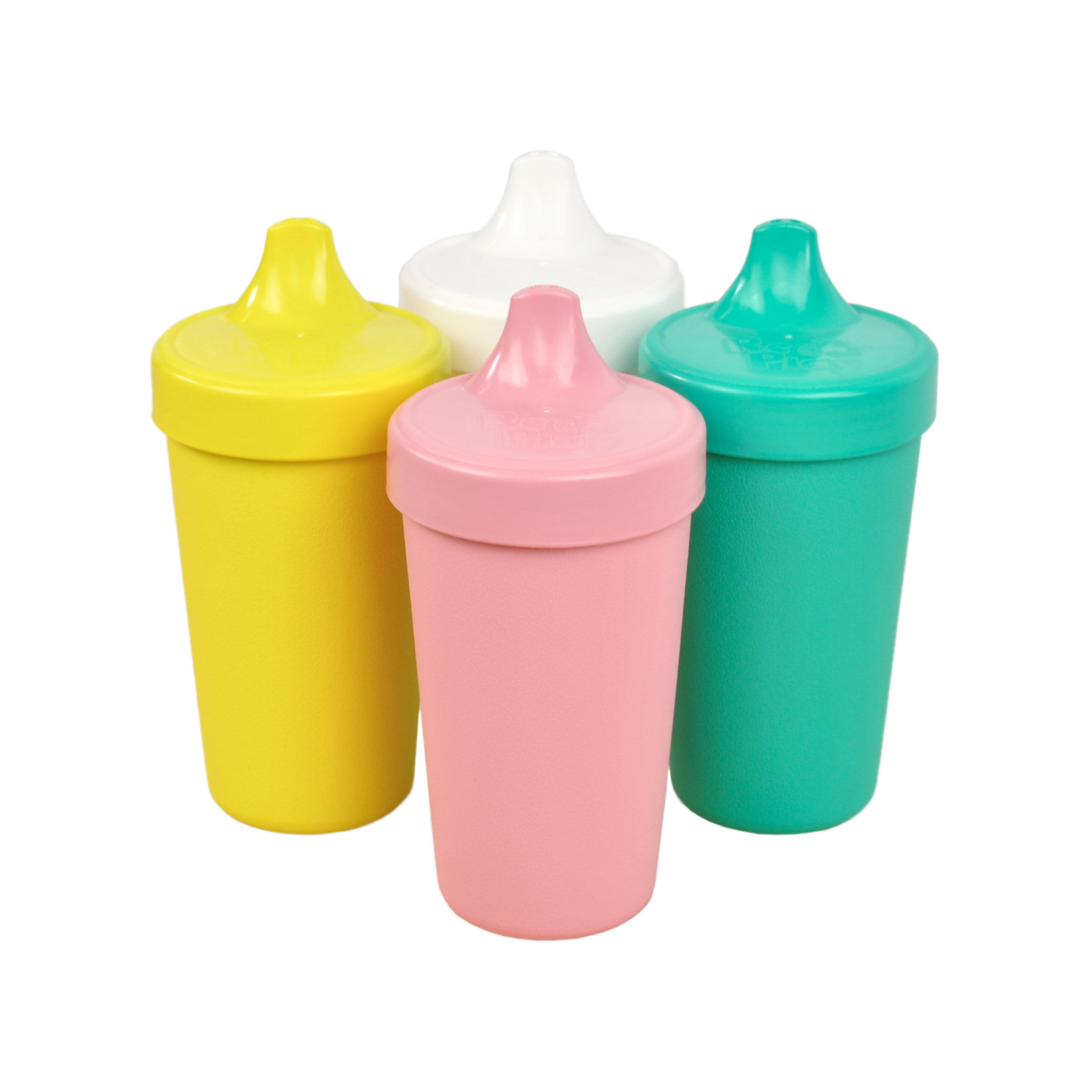 Straw Cups with Reversable Re-Think It Inc. Re-Play Toddler Feeding 4pk 10 oz