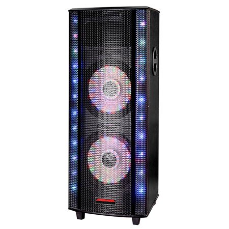 One Dj System (MAX POWER LED Maxpower 2x10 In Bt Fm Dj Party System)