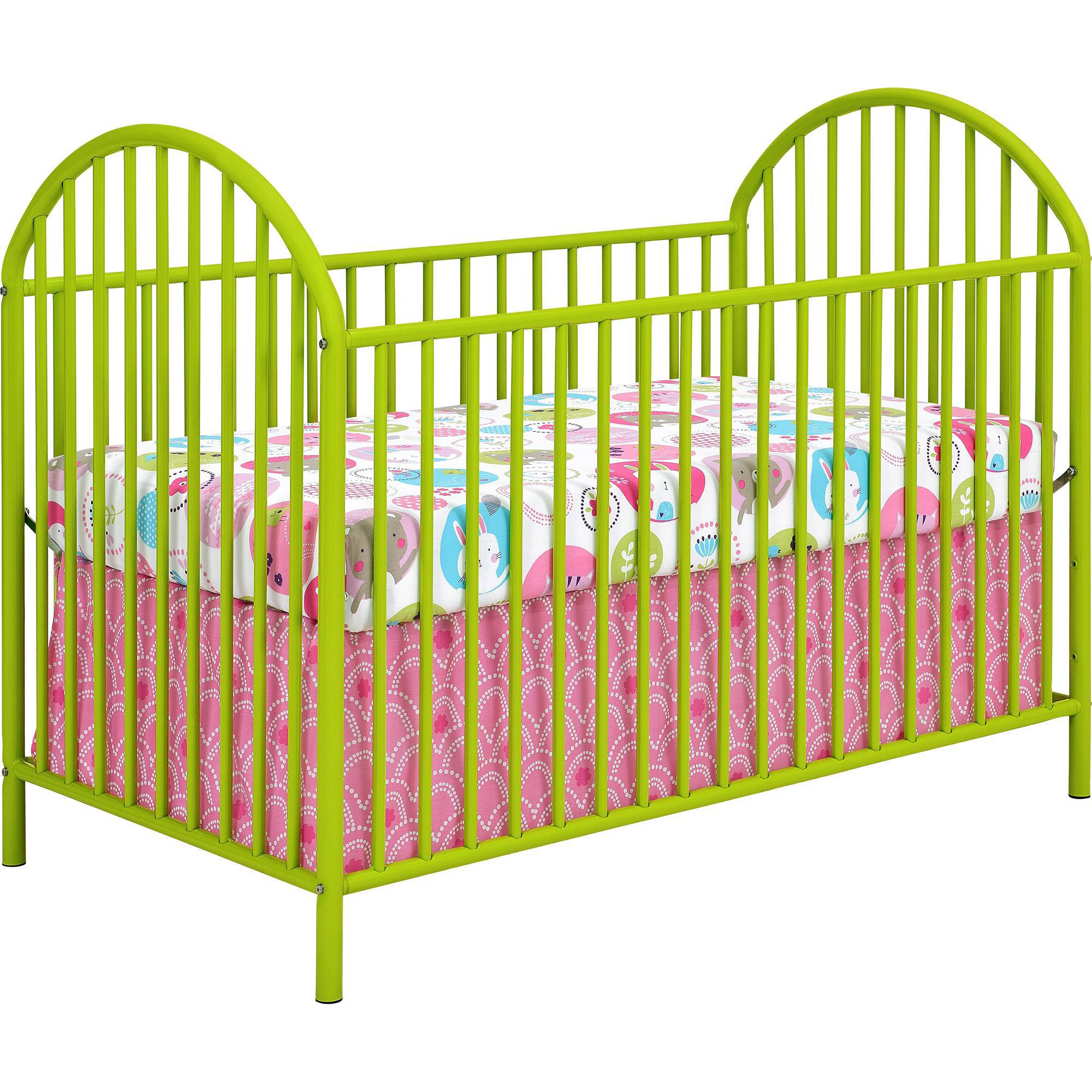 Cosco Maxwell Metal Crib Lime Green