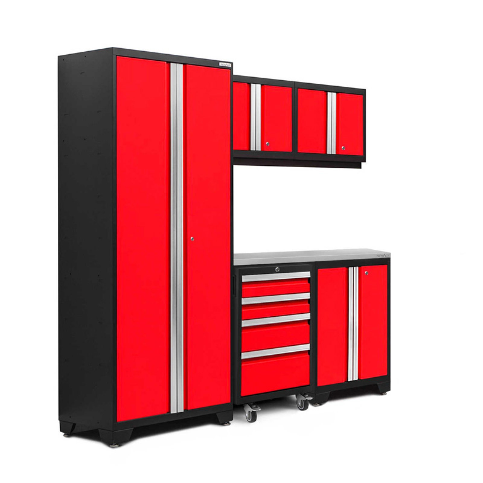 NewAge Products Bold 3.0 6 Piece Garage Cabinet System