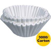 BUNN, BUNBCF250CT, Home Brewer Coffee Filters, 3000 / Carton, White