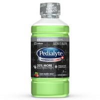 Pedialyte AdvancedCare Plus Electrolyte Drink with 33% More Electrolytes and has PreActiv Prebiotics, Kiwi Berry Mist, 1 Liter