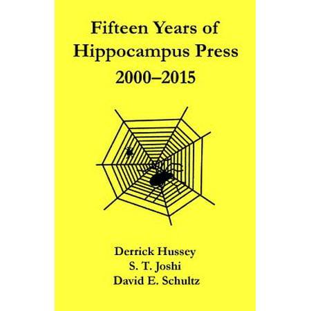 Fifteen Years of Hippocampus Press : 2000-2015
