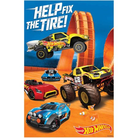 - Hot Wheels Wild Racer Party Game