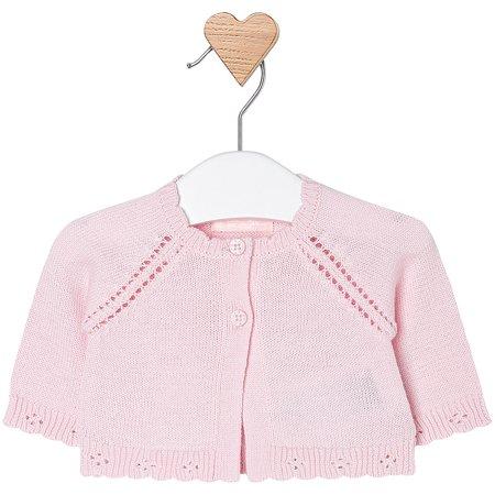 ac97d8278 Mayoral - Mayoral Baby Girl 0M-12M Fancy Edge Knit Bolero Cardigan ...