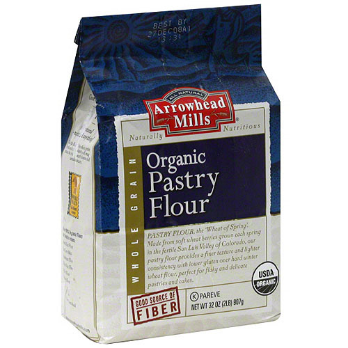 Arrowhead Mills Pastry Flour, 32 oz (Pack of 6)