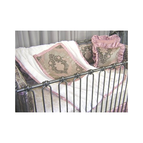 Blueberrie Kids Pink Champagne Quilt by Black Flag