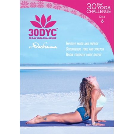 Dashama Konah Gordon: 30 Day Yoga Challenge Disc 6 (DVD)