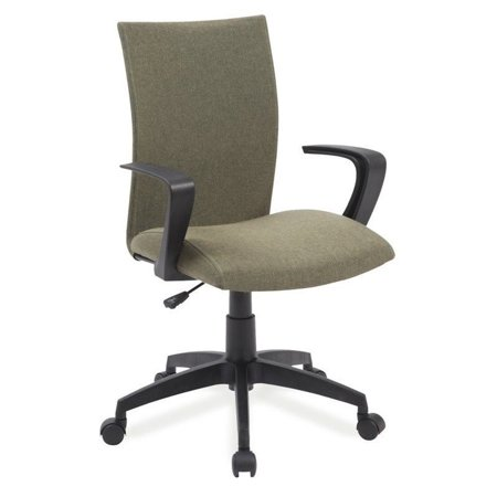 Leick Apostrophe Linen Office Chair in Sage Green - image 3 de 3