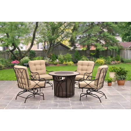 Better Homes And Garden Seacliff Gas Fire Pit Chat Set