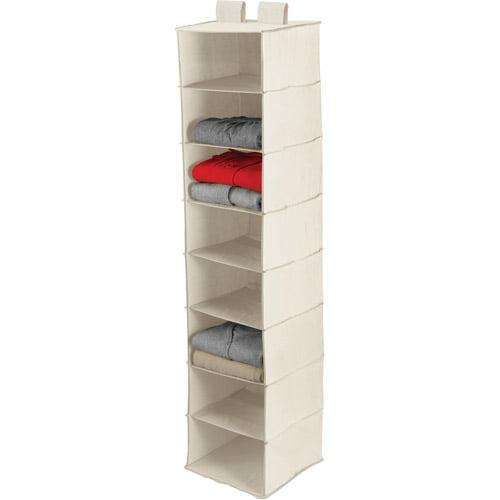Honey Can Do 8-Shelf Hanging Organizer, Natural