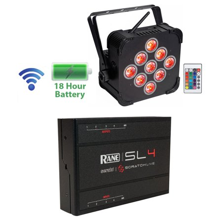 RANE SL 4 4-Deck DJ Midi Controller Serato Scratch Interface+Wireless Par