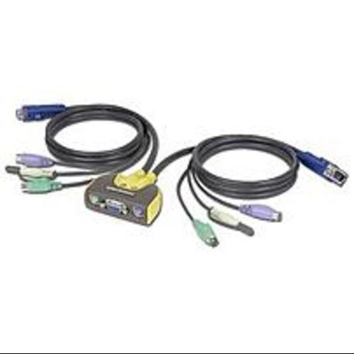 IOGEAR MiniView Micro Audio 2-Port KVM Switch - 2 x 1 - 2 x (Refurbished)