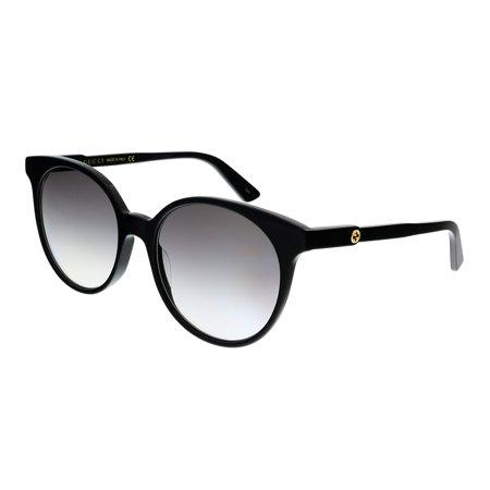 Gucci Gucci Logo GG0488S Sunglasses 001 Black Gucci Gucci Logo GG0488S Sunglasses 001 Black
