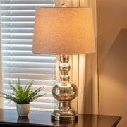 Decor Therapy Silver Mercury Glass Table Lamp