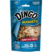 Dingo Nuggets 4 Ounces, Made With Real Chicken, Soft And Chewy Treats For All Dogs