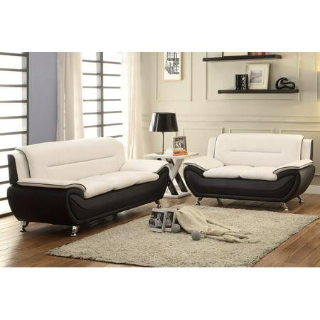 Zebra 2pc Living room set