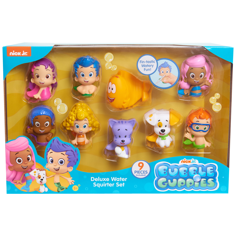 bubble guppies bath squirters deluxe set 9 bath squirters included rh walmart com