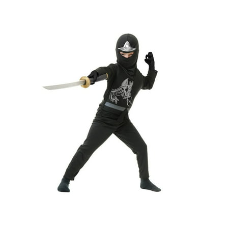 Halloween Ninja Avenger Series II Child Costume - Black](Black Swan Costumes)