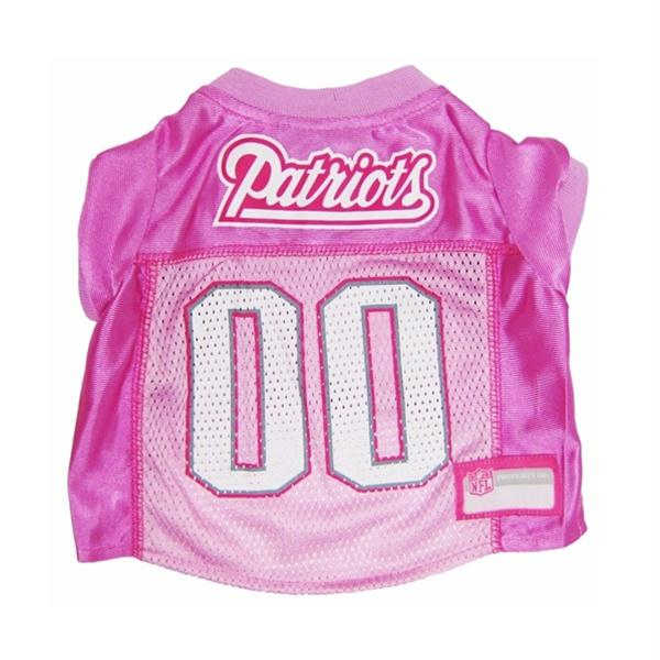New England Patriots Pink Dog Jersey - X-Small