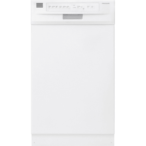"Frigidaire FFBD1821M 18"" Built-In Dishwasher with Stainless Steel Interior and D"