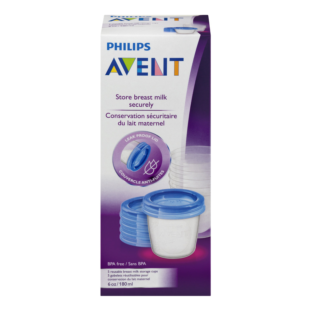 Philips Avent Store Breast Milk Securely, 5.0 CT