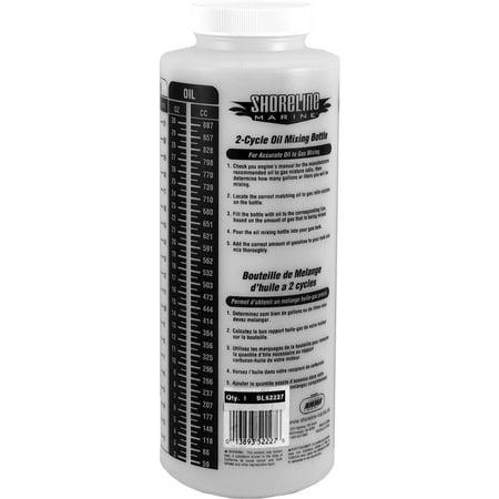 Coastal Marine - Shoreline Marine Oil Mixing Bottle