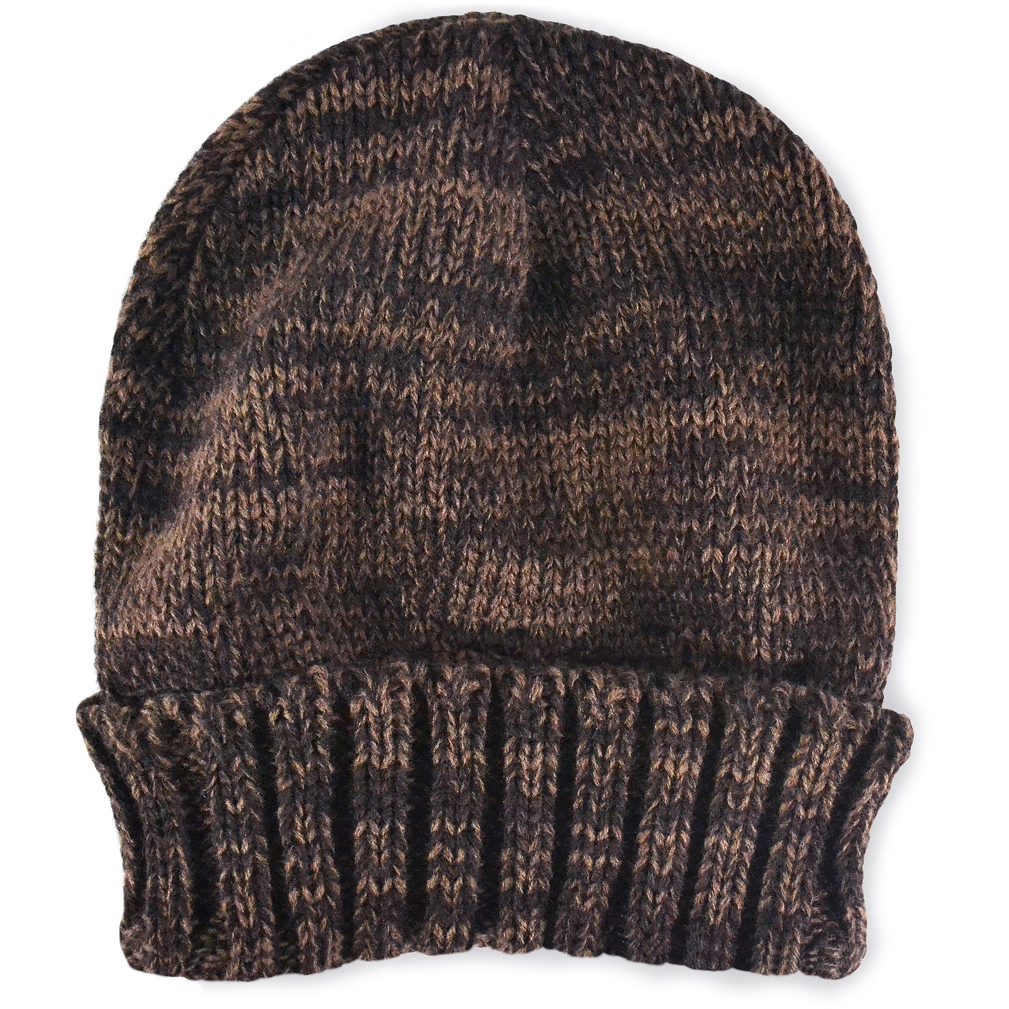 MUK LUKS Men's 2 Color Marl Cuff Cap