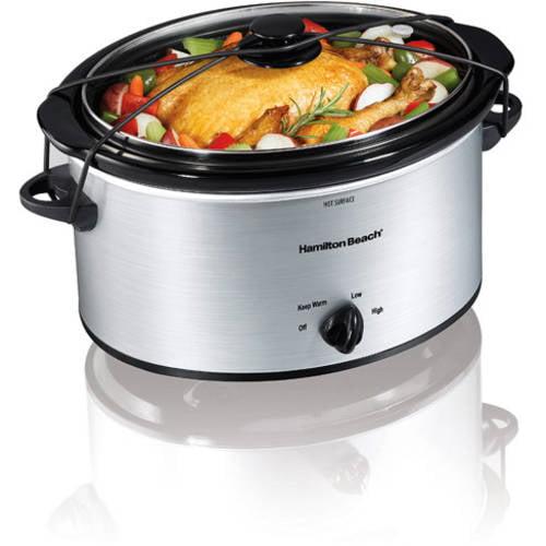 Hamilton Beach 5-Quart Portable Slow Cooker