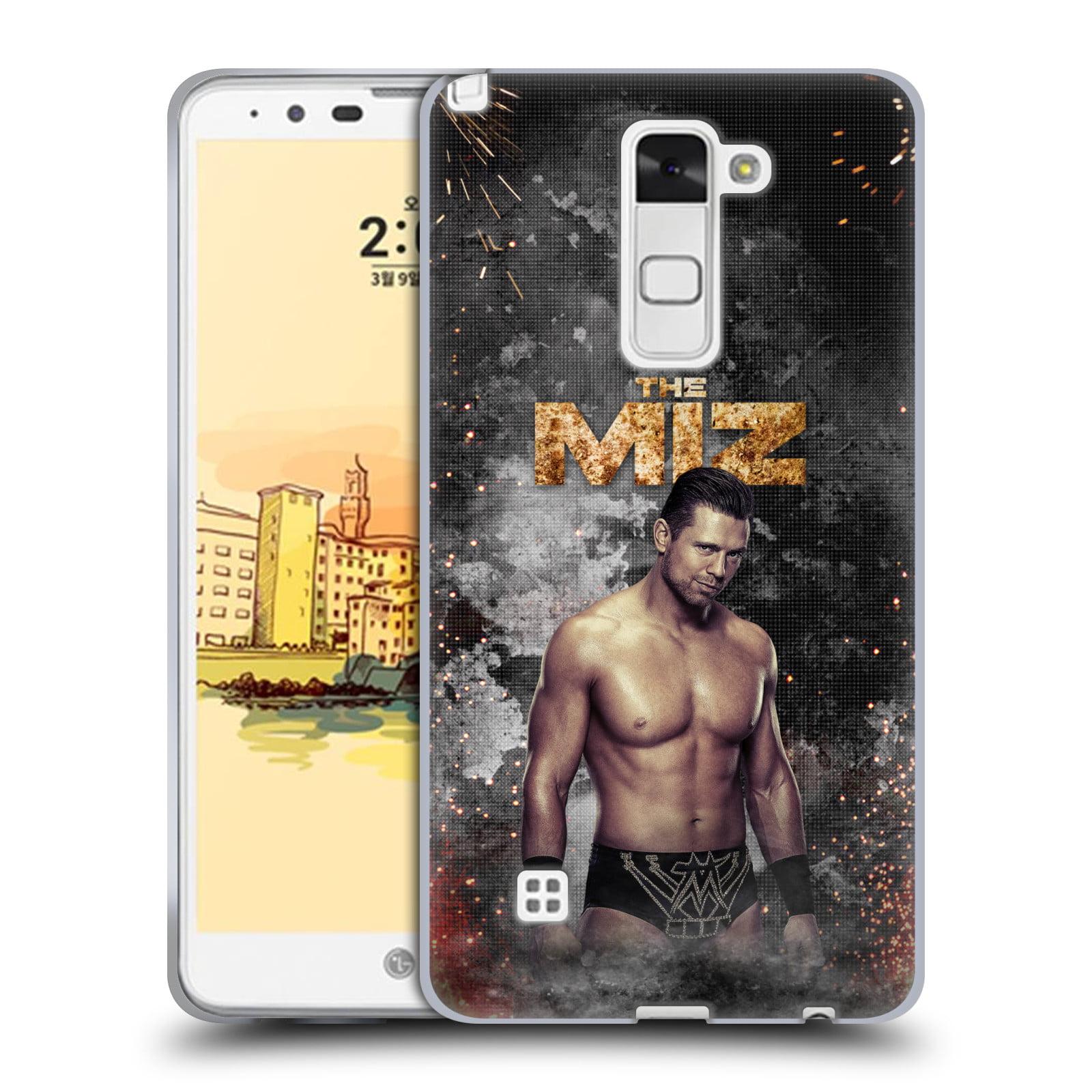 OFFICIAL WWE THE MIZ SOFT GEL CASE FOR LG PHONES 3