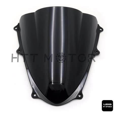 Double Bubble Windshield Windscreen For Suzuki GSXR1000 K9 2009-2017 14 15 2016 (Gsxr1000 Windshield Windscreen)