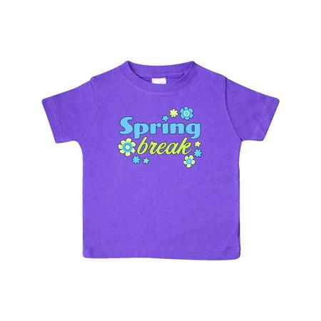 Spring Break Flowers Baby T Shirt Walmart