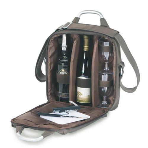 Magellan Wine and Cheese Tote w Handles