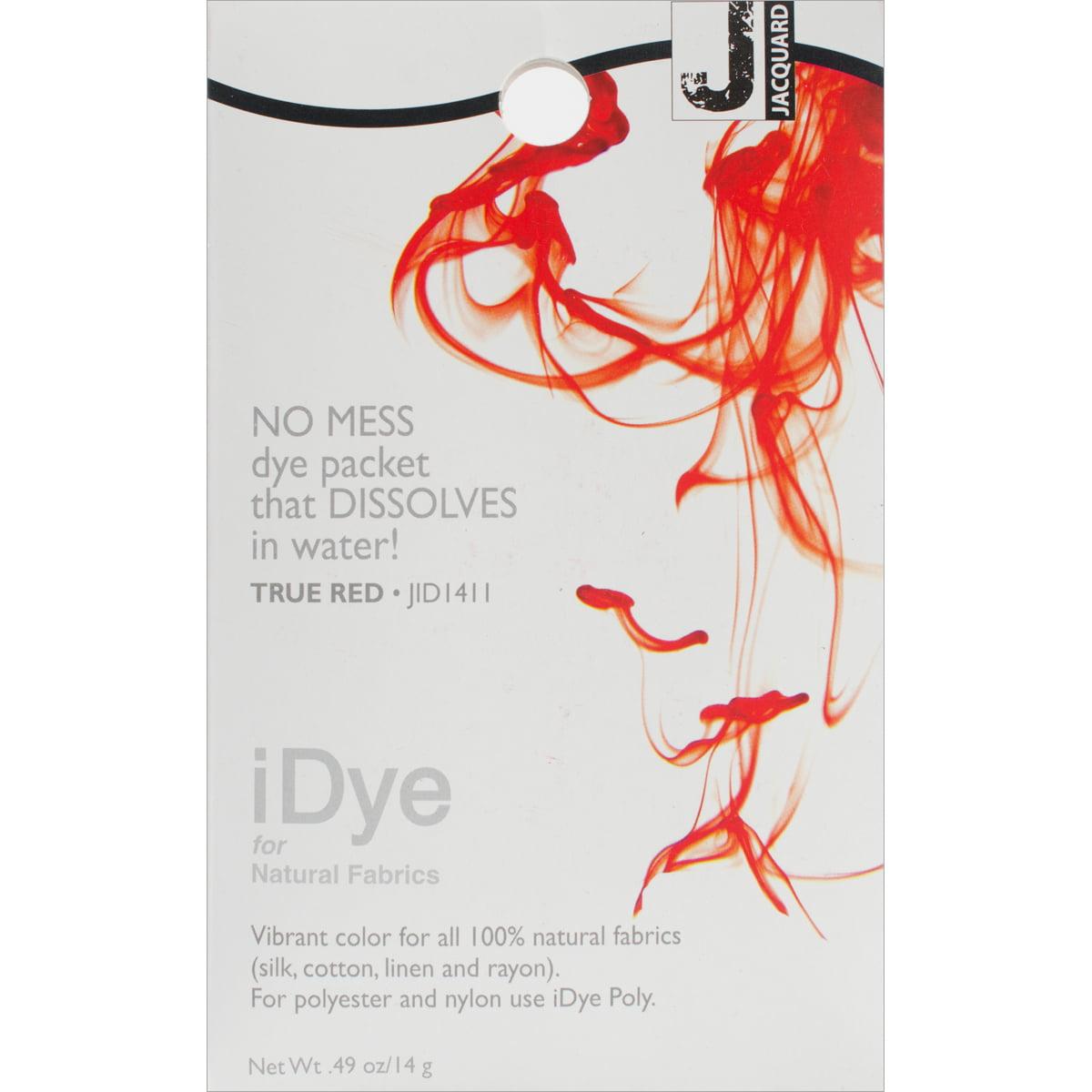 Jacquard iDye Fabric Dye 14g-True Red
