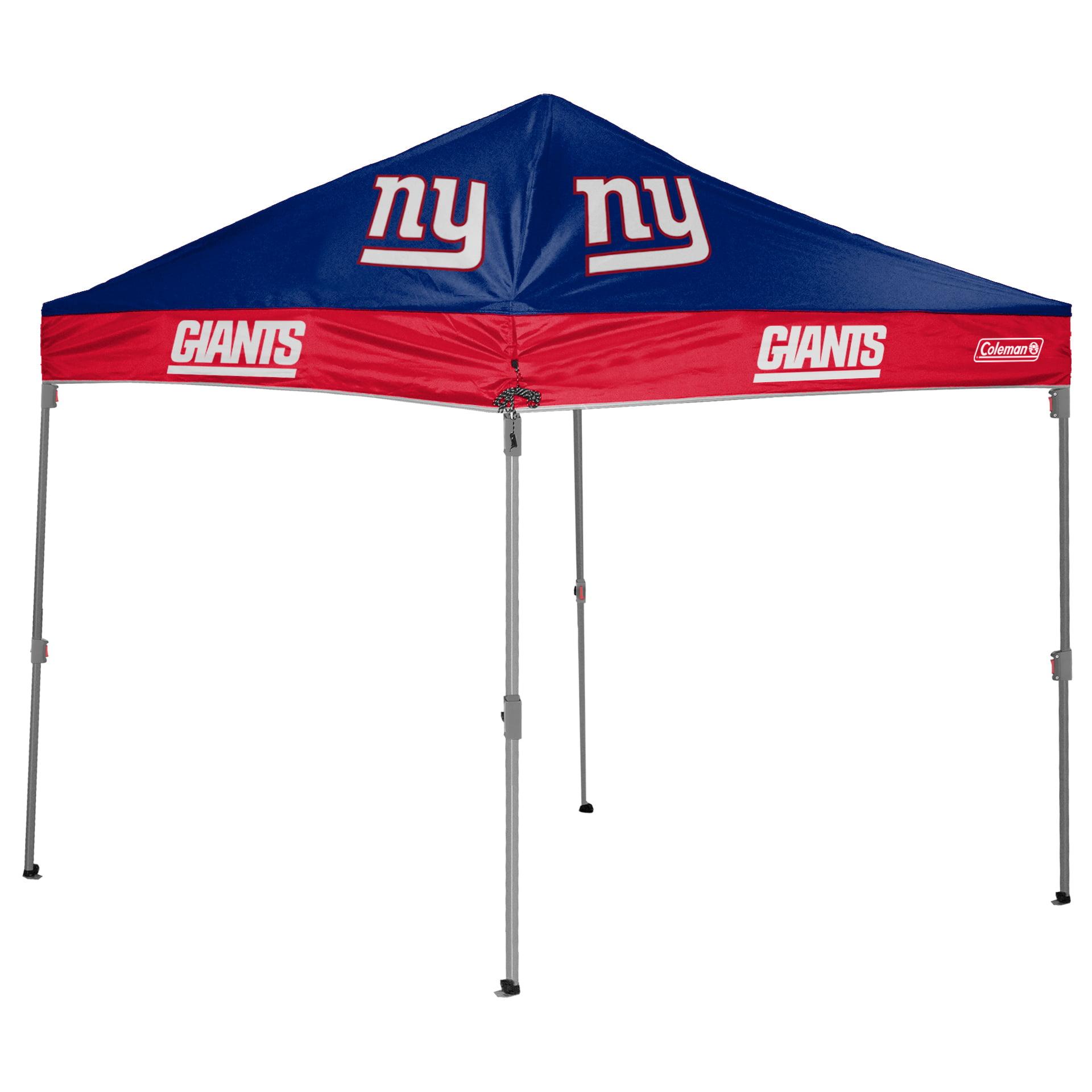 New York Giants Coleman 10' x 10' 2-Tone Straight Leg Canopy - No Size