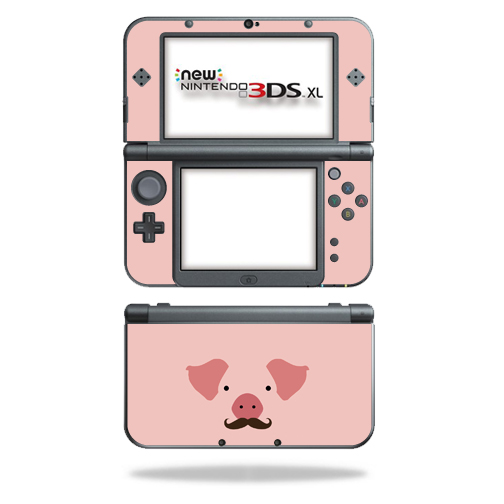 MightySkins Protective Vinyl Skin Decal for New Nintendo 3DS XL (2015) cover wrap sticker skins Piggy